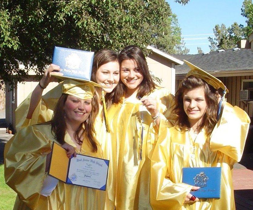 Graduates at a therapeutic boarding school