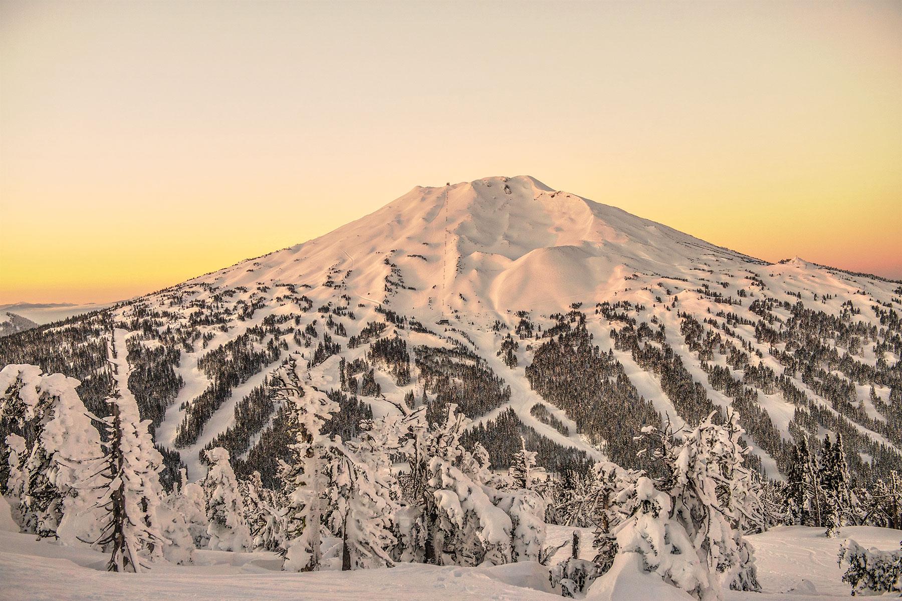 Mt Bachelor Ski Area near Bend Oregon