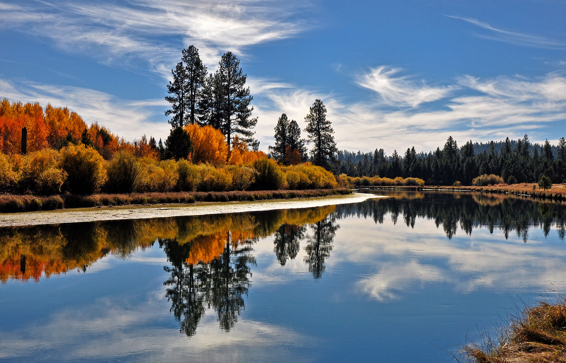 The Deschutes River near Bend, Oregon
